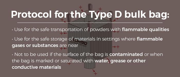 Type D FIBC Bulk Bags